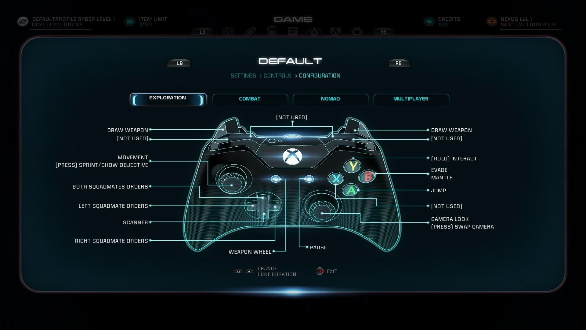 Xbox One Controls Mass Effect Andromeda Wiki Game Ps4 Xboxone 1 Small Min 2